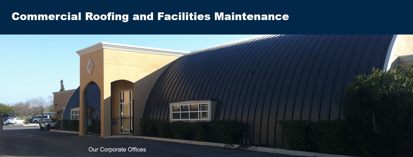 roofing and facilites maintenance